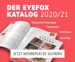 Der EYEFOX Katalog 2020/21