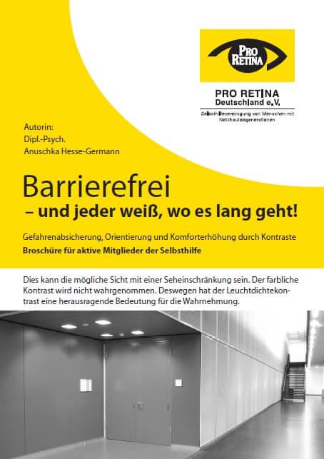 Pro Retina - Barrierefreiheit in der Augenheilkunde ohne Kontrast