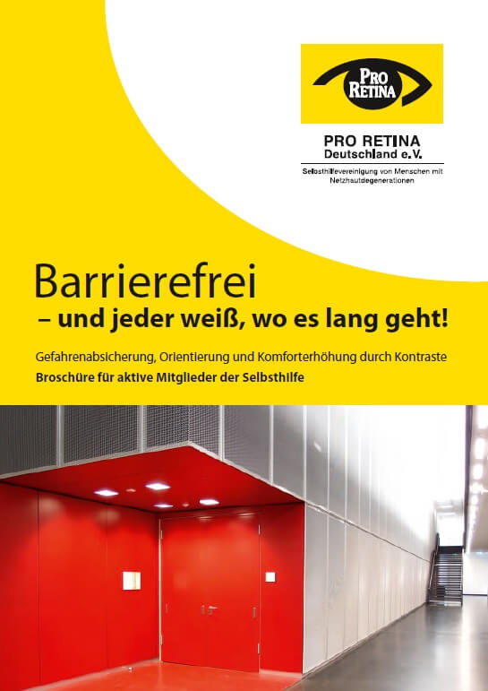Pro Retina - Barrierefreiheit in der Augenheilkunde