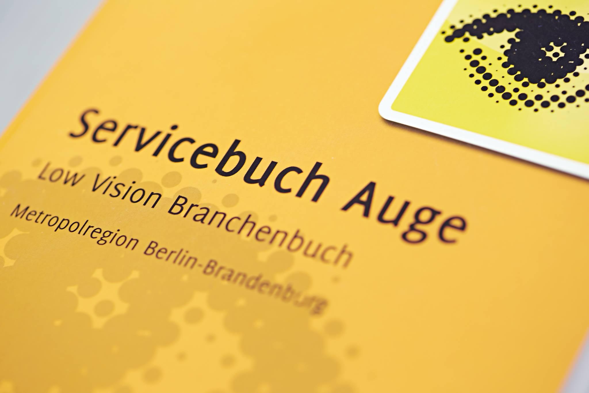 Servicebuch Auge: PRO RETINA Deutschland e.V. und der  Servicebuch-Verlag legen erste deutschlandweite Ausgabe auf