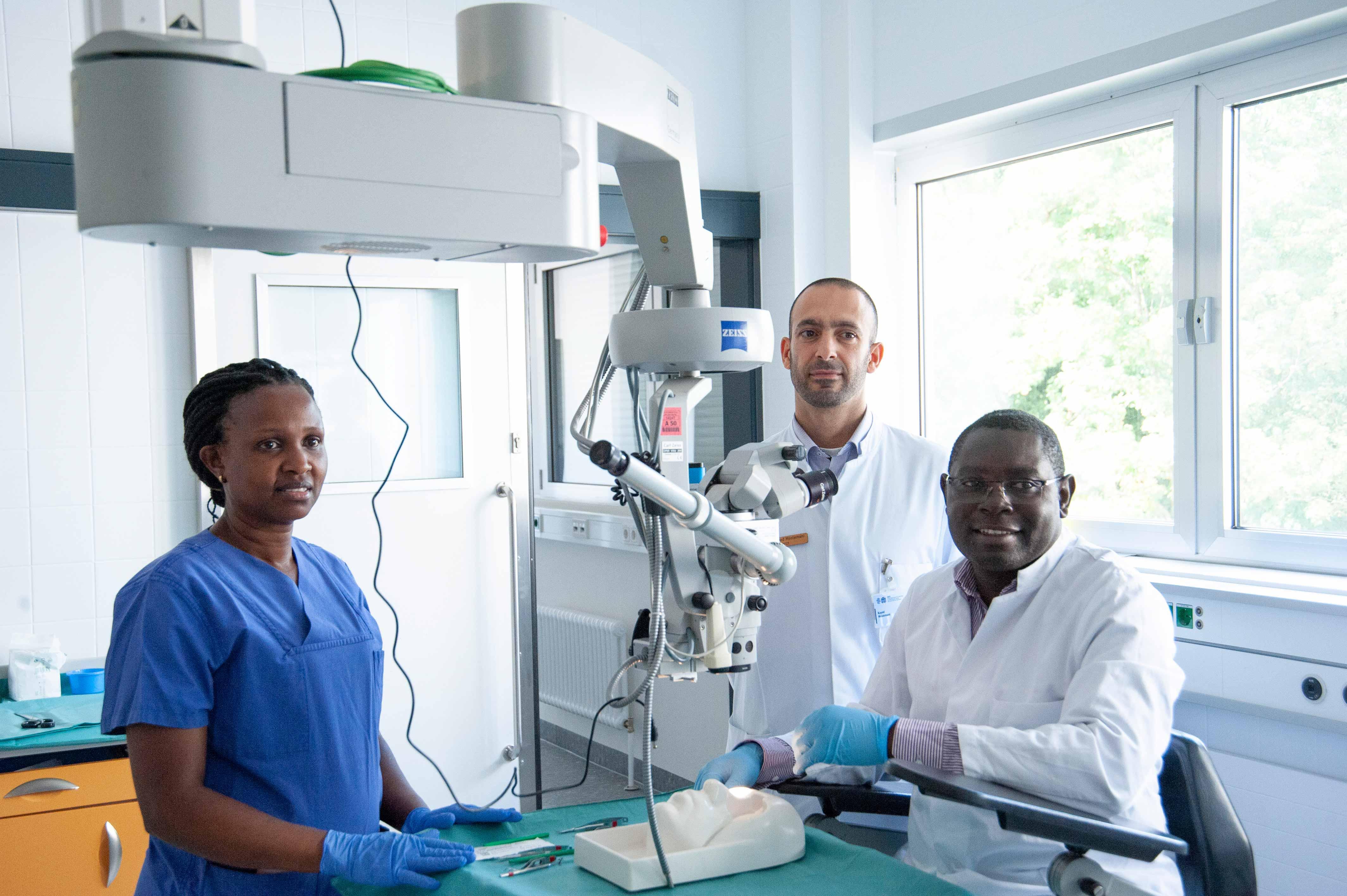 Start des Austauschprogramms zwischen der Homburger Universitäts-Augenklinik und dem Mengo Hospital in Uganda