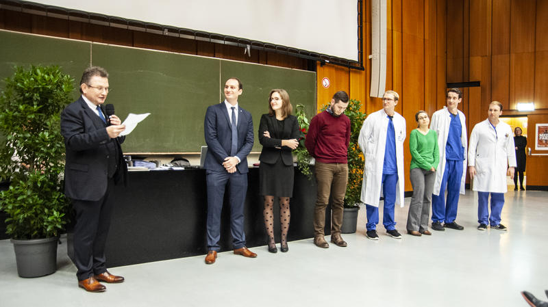 Verleihung des PJ-Lehrpreises 2018