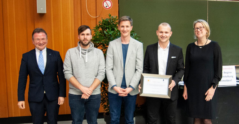 Verleihung des PJ-Lehrpreises 2019 am Universitätsklinikum des Saarlandes