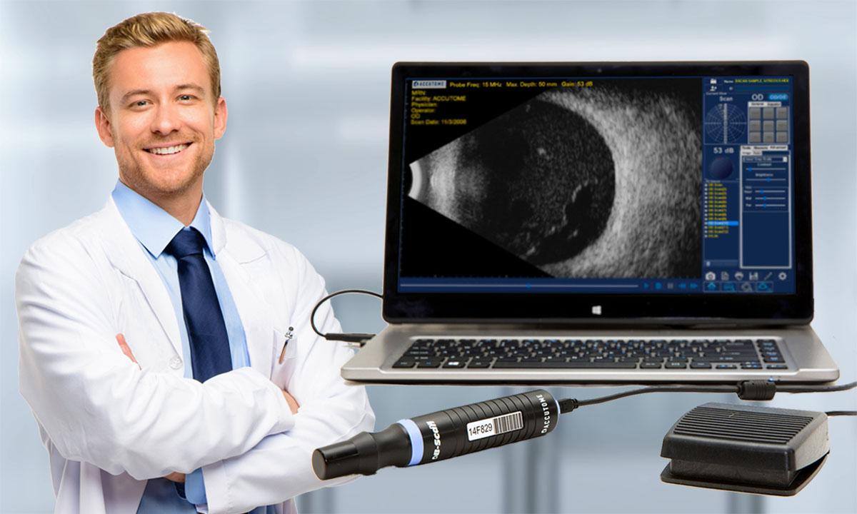 Ultraschall mit 15 μm Auflösung und einzigartiger Flexibilität