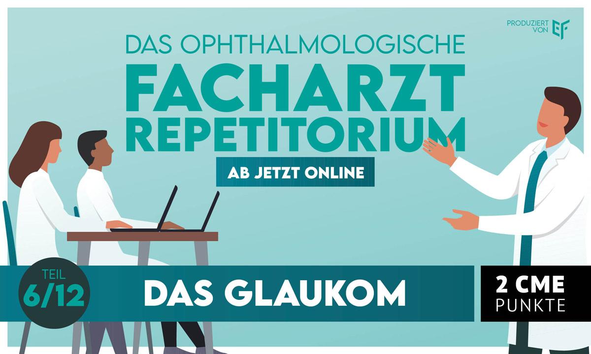 """EYEFOX Facharztrepetitorium """"Das Glaukom"""" jetzt online"""