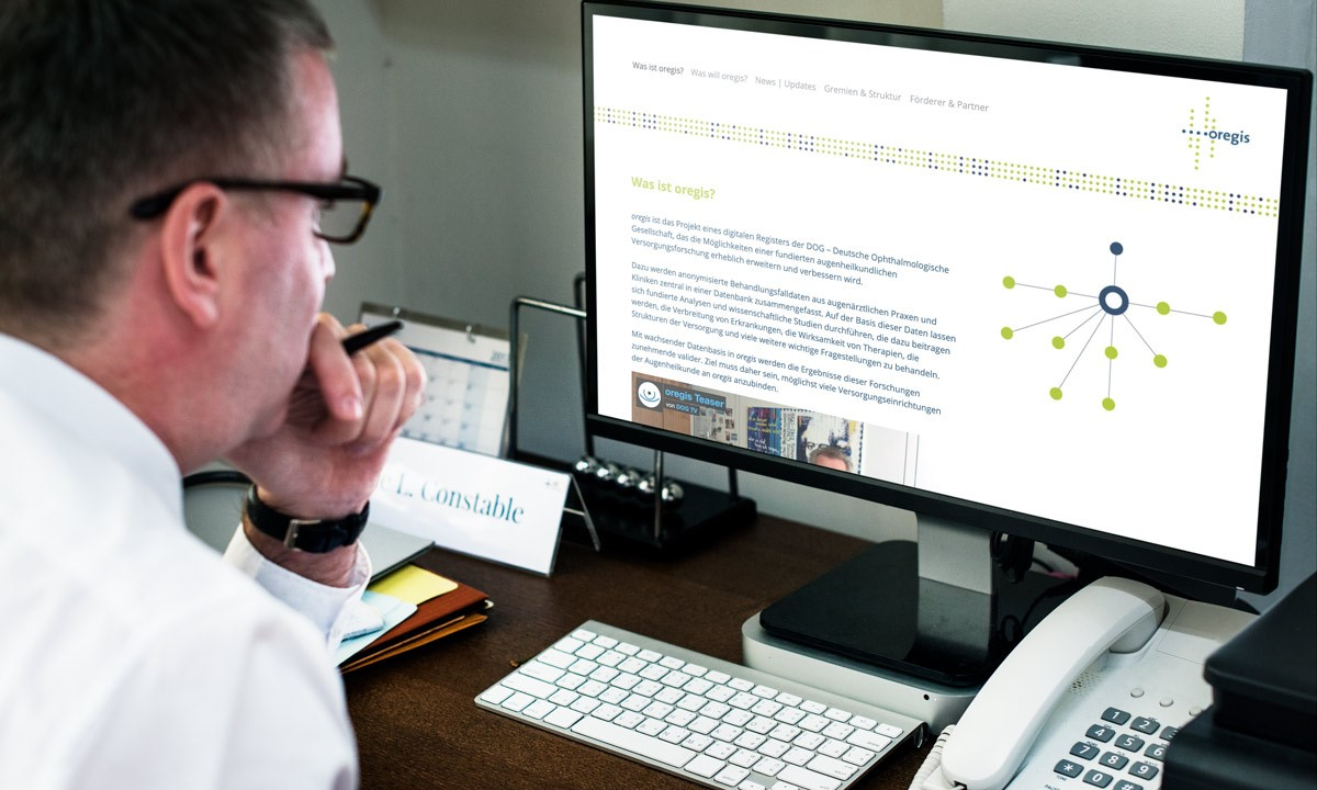 oregis: Ein Update zum nationalen Ophthalmologischen Register