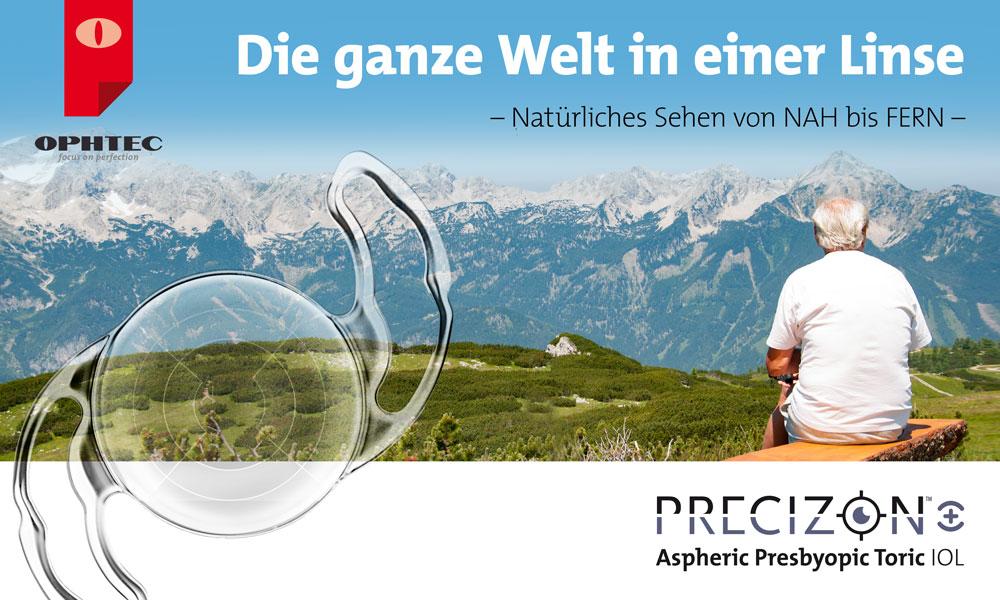 Presbyopiekorrektur – Neu definiert: Kontinuierliches Sehen von NAH bis FERN