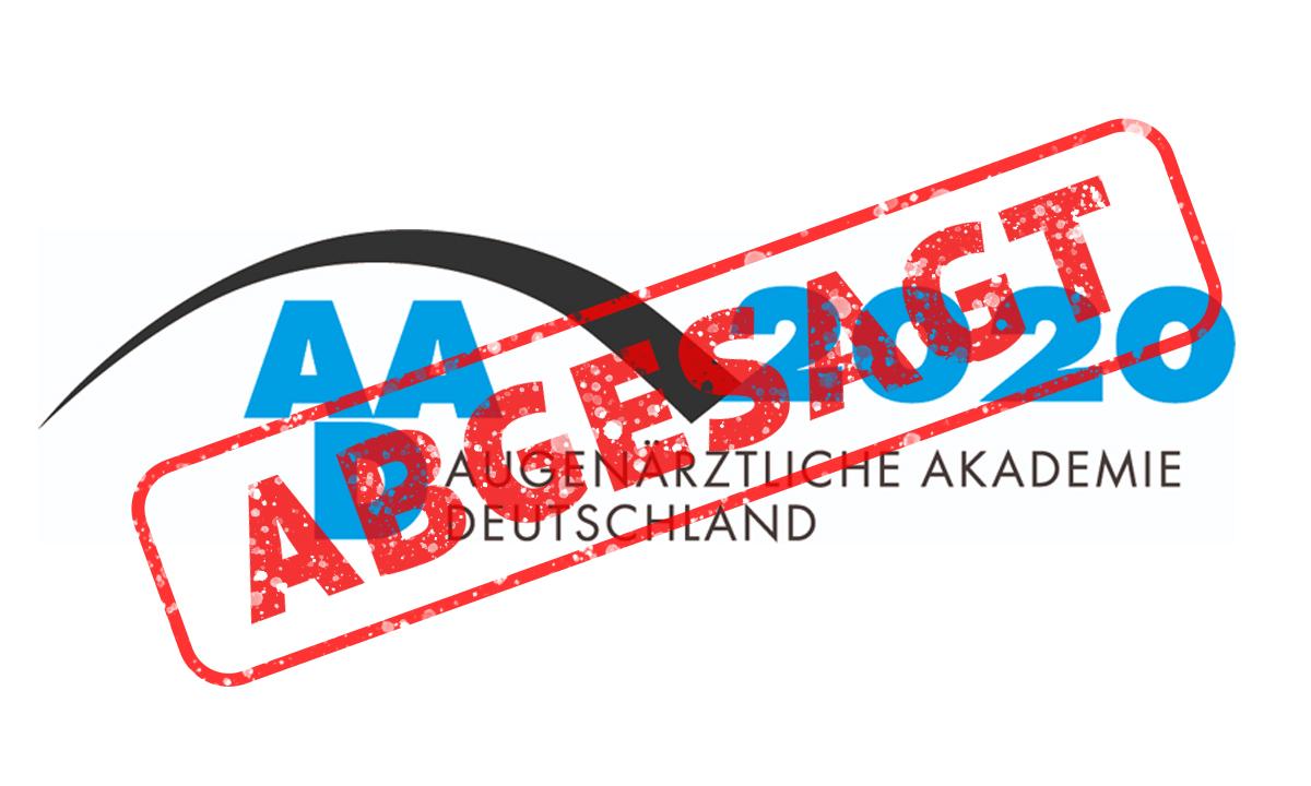 AAD 2020 abgesagt