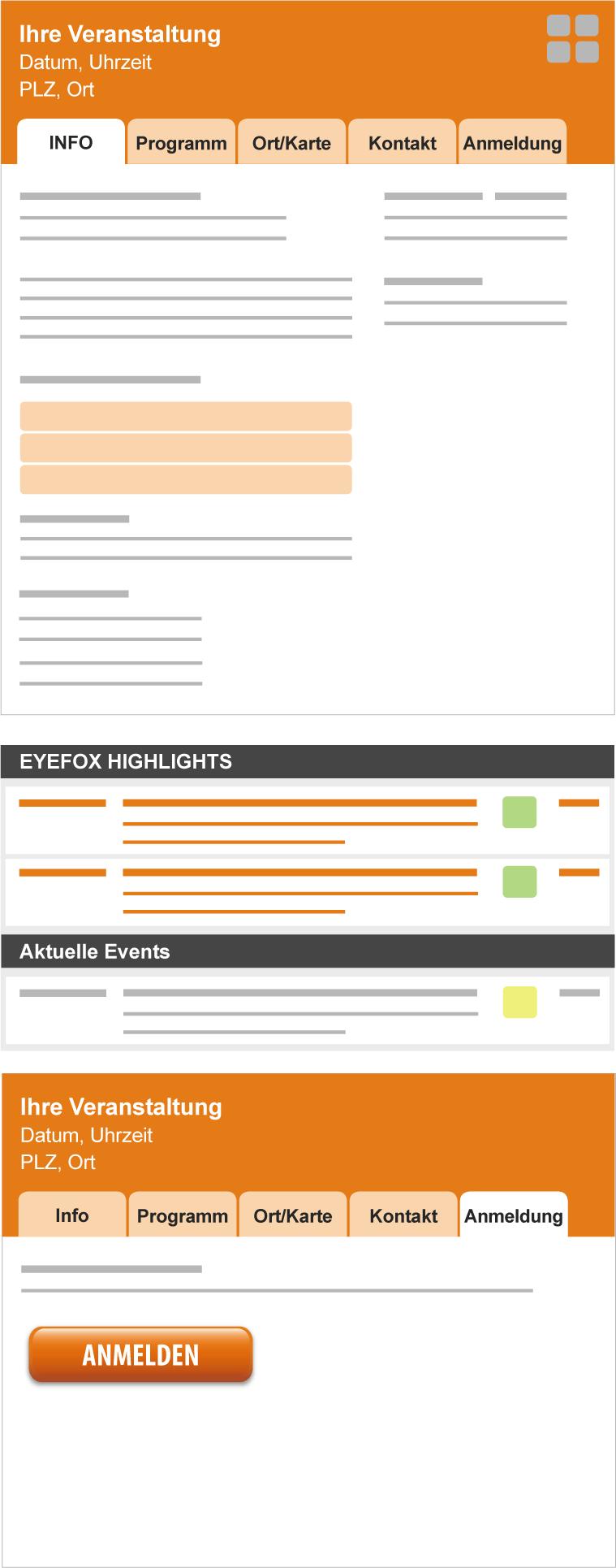 Firmenindex und Produkte auf EYEFOX.com