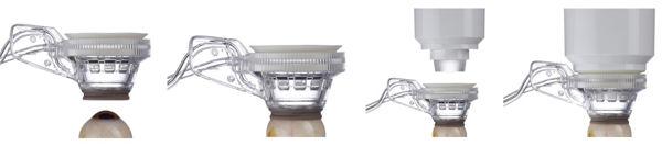 Andockvorgang des Catalys Präzisions Laser Systems Bild auf Eyefox