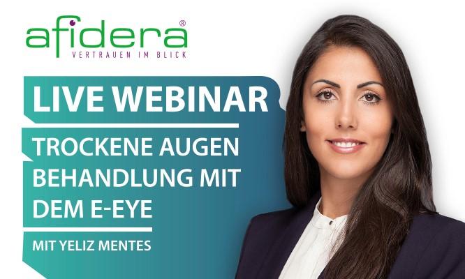 Live Webinar   E-Eye – Behandlung mit IRPL®-Lichttherapie