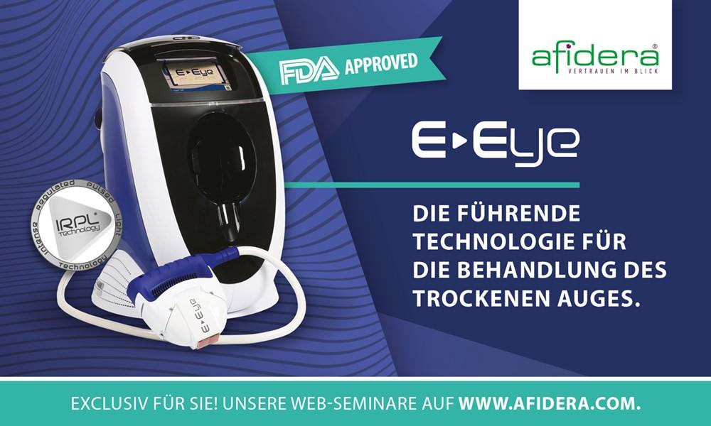 E-Eye – die heilende Therapie des trockenen Auges