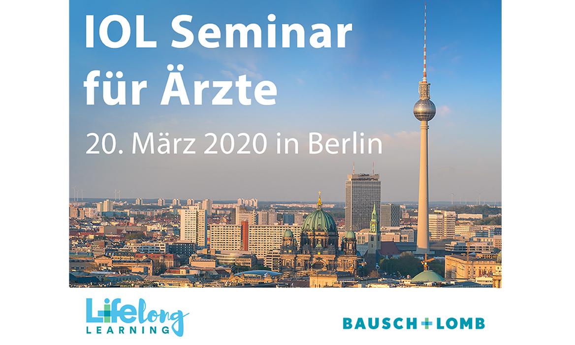 IOL Seminar für Ärzte von Bausch + Lomb
