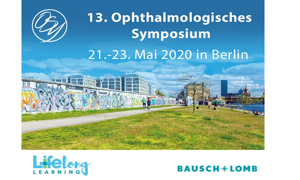 Einladung zum 13. Ophthalmologischen Symposium