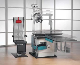 Refraktions und Untersuchungseinheit Innovario von block optic ltd