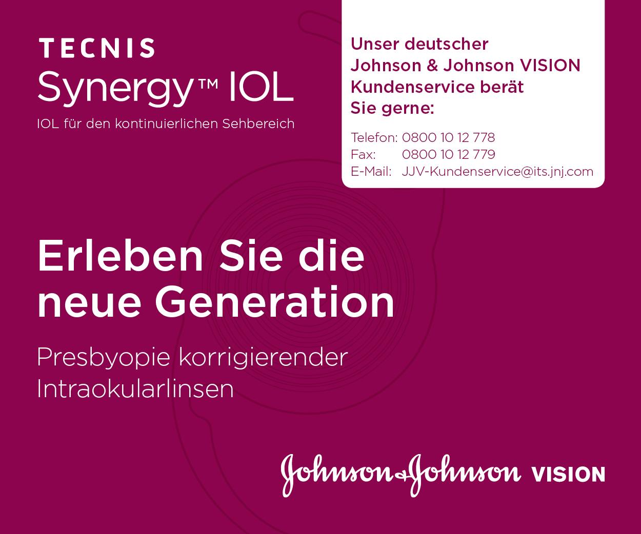 Johnson & Johnson Vision TECNIS Synergy™ IOL