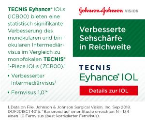 TECNIS Eyhance IOL Johnson & Johnson Vision