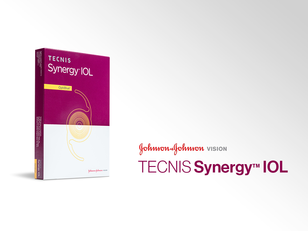 Johnson & Johnson Vision stellt die TECNIS Synergy™ IOL, eine Intraokularlinse für den kontinuierlichen Sehbereich, auf dem ESCRS-Kongress 2019 vor