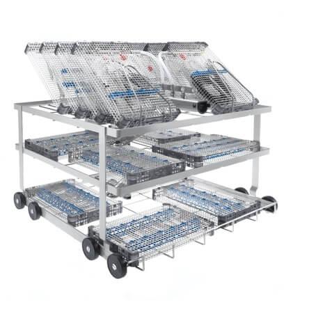 Miele A 207 Wagen Ophthalmologie-Trays