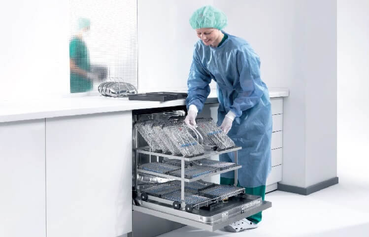 Miele Professional Dampfsterilisatoren und Heißluftsterilisatoren für die Ophthalmologie