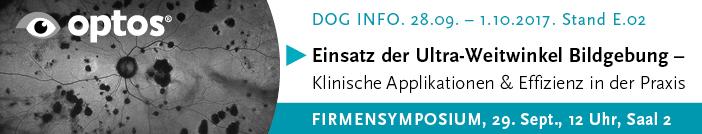 DOG 2017 Firmensymposium der Fa. Optos GmbH Deutschland