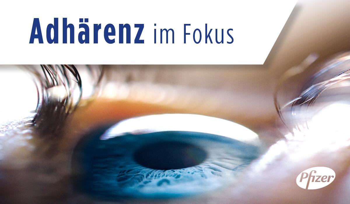 Neues Adhärenzprogramm: Pfizer unterstützt Praxen und Patienten in der Glaukomtherapie
