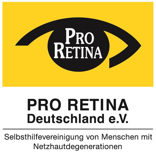 Logo Pro-Retina Deutschland e.V. auf Eyefox