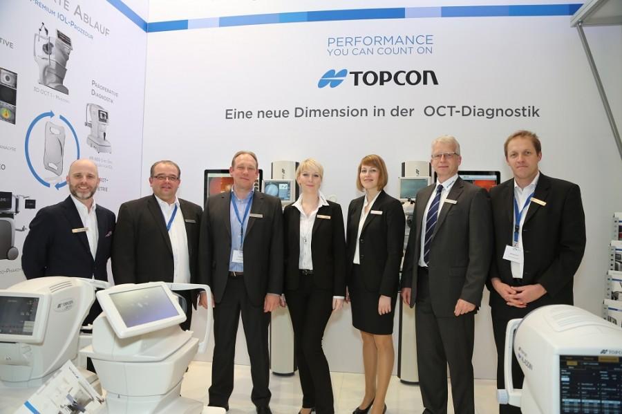 Mitarbeiter von Topcon auf der AAD gepostet auf Eyefox.com