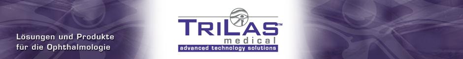 Header von Trilas Medical auf Eyefox.com