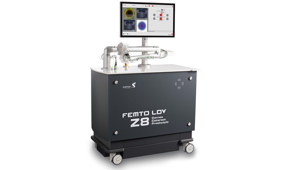 ZIEMER erhält die CE-Zulassung für zwei neue Anwendungen mit dem FEMTO LDV Z8