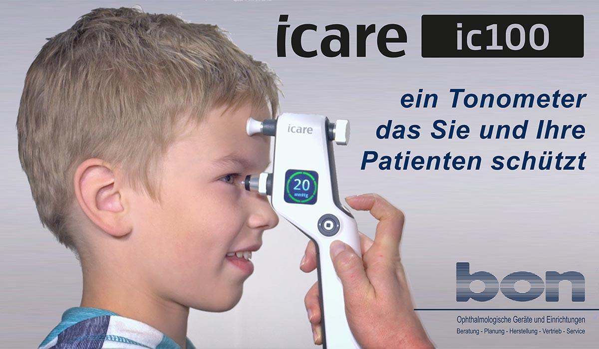 Icare - ein Tonometer das Sie und Ihre Patienten schützt.
