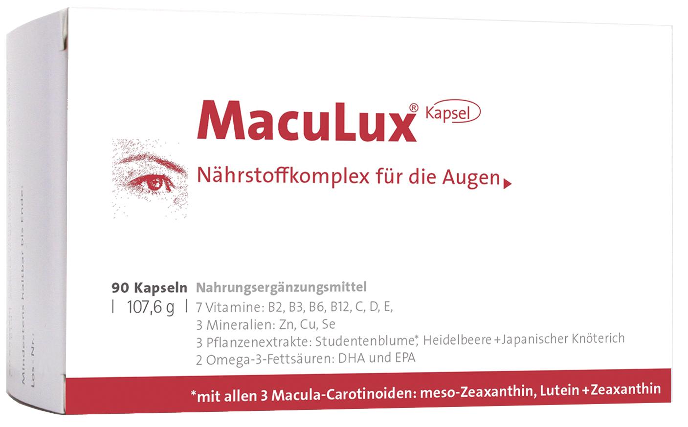 MacuLux®-Kapseln
