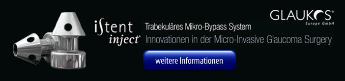 iStent injekt trabekuläres Mikro-Bypass System