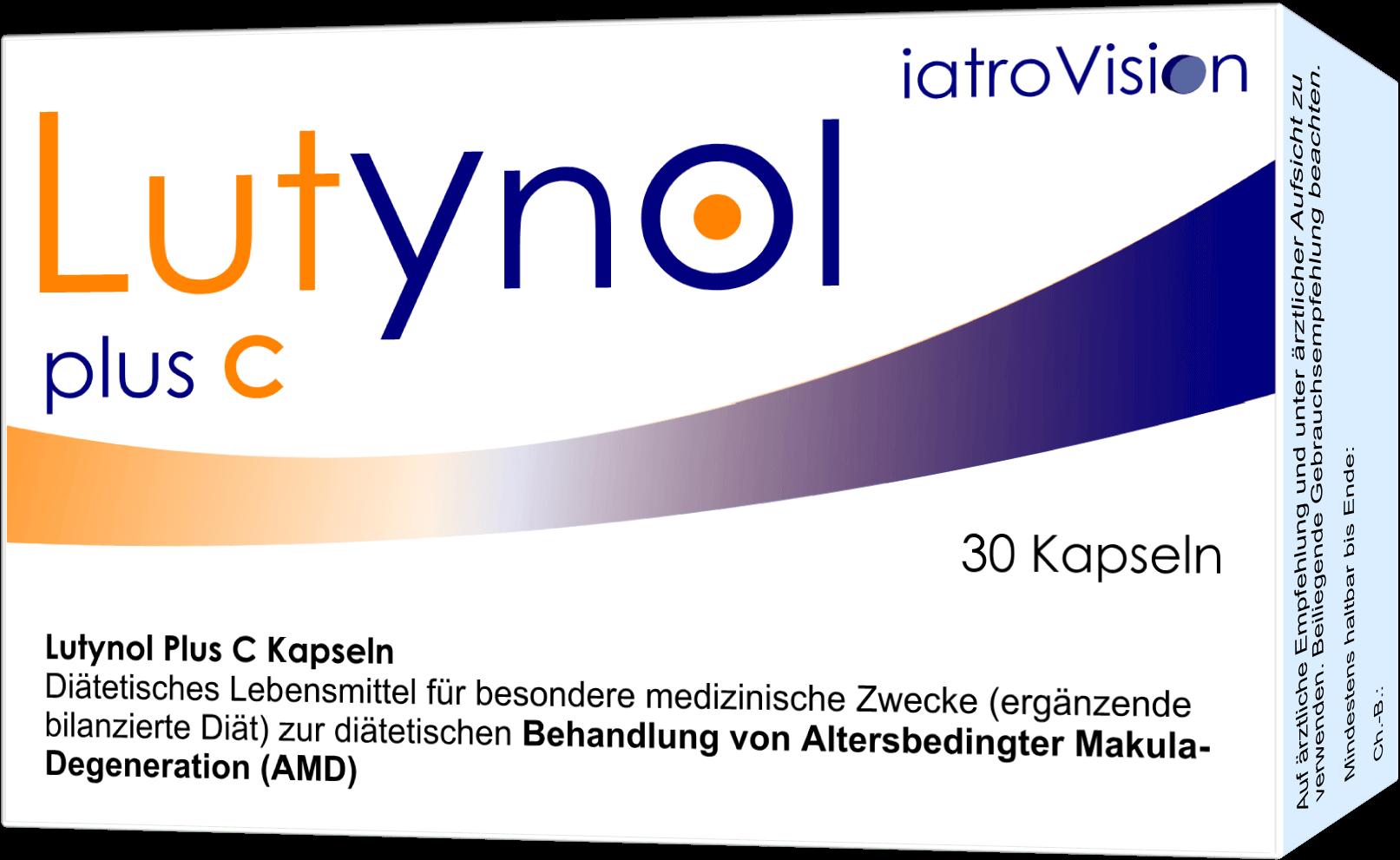 Lutynol plus C Kapseln - Neues Konzept bei AMD