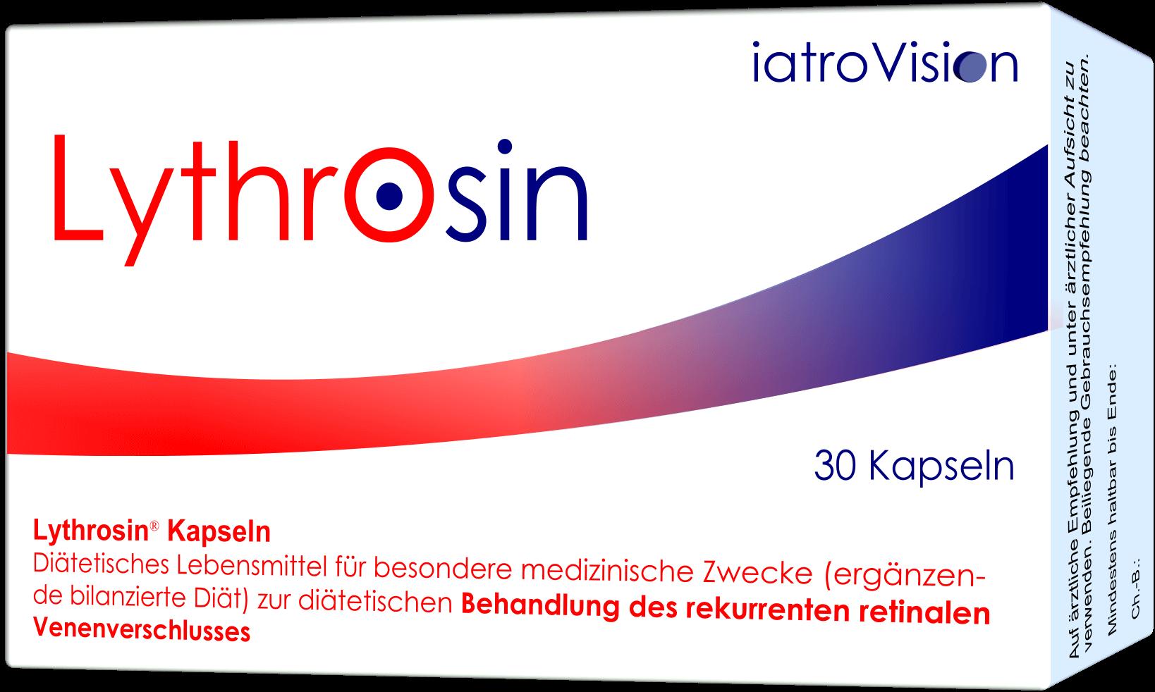 Lythrosin Kapseln Rekurrenz bei retinalem Venenverschluss verringern